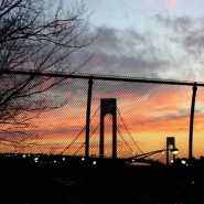 The Verrazano Narrows Bridge to Staten Island